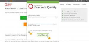 Descarga e instala Concrete Quality gratis