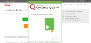 Download and Install Concrete Quality