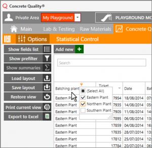 StatisticalControlColumnAutofilter