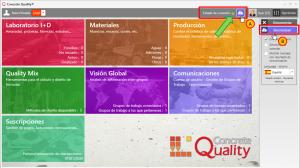 Concrete Quality sincronizar datos